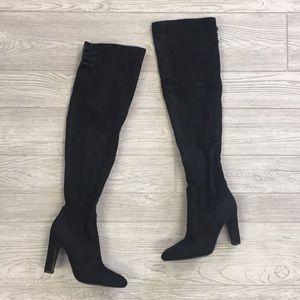 Suede Ivanka Trump Boots Size 6